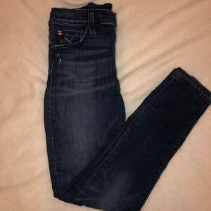 Women's Hudson blue jeans. Size 27 waist